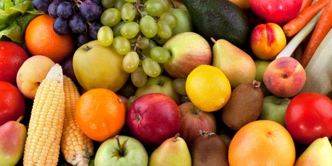 A bounty of refreshing fruits and veggies